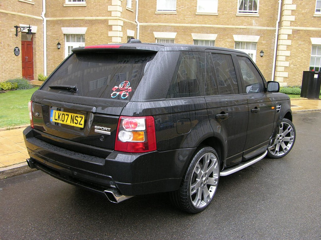 range rover sport hst 4 2 v8 supercharged this car is. Black Bedroom Furniture Sets. Home Design Ideas