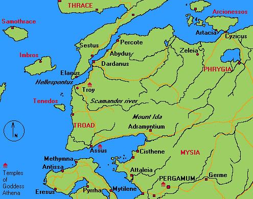 troia mapa Mapa de Tróia   História   Flickr troia mapa