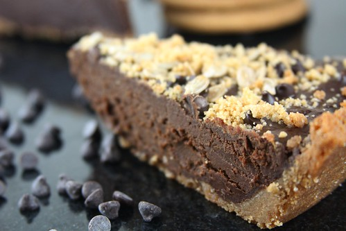 Chocolate Sunbutter Pie - Vegan, allergy friendly | by Queijo