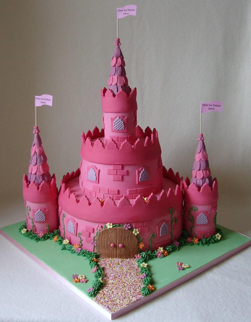 Princess Castle Cake For Grace This Is The Third