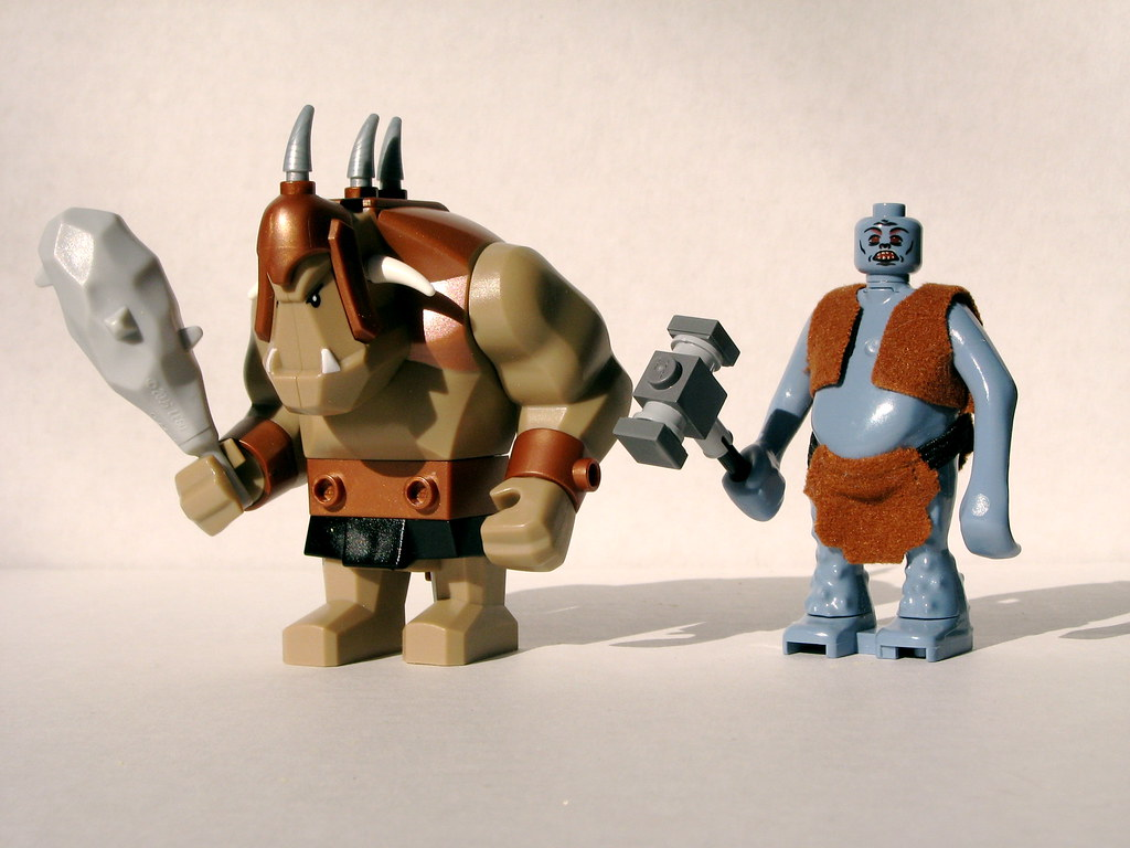 New Troll And Old Troll Front Comparison Between The