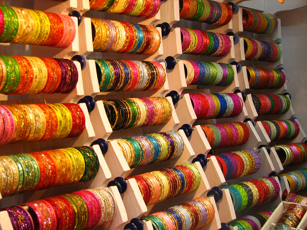 stock bangle photo rajasthan display shopfront art of crafts pushkar in bangles india shop hanging