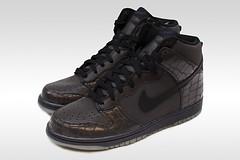 low priced 8cb76 0c1bb ... discount nike dunk high black reflective crocodile by bef38 b03e9