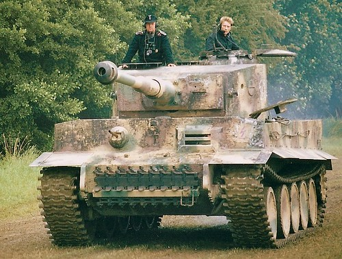 Tiger Tank The Tiger I Was In Use From Late 1942 Until