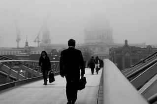 028 - a foggy millenium bridge | by Jason Webber