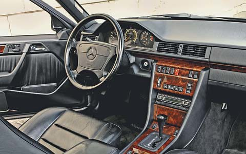 Mercedes Benz 500E interior | Flickr - Photo Sharing!