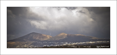 Lanzarote Rain Clouds & Mountains #1..!! | by Ossie13 aka Steve