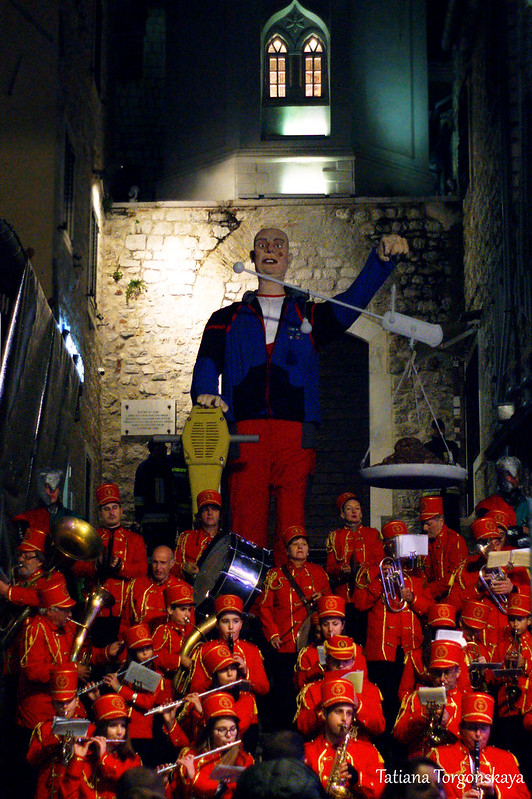 Городской оркестр на закрытии