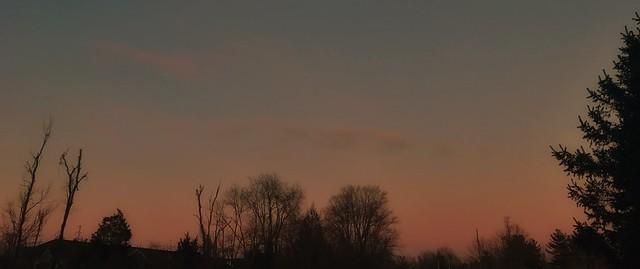 Evening Belt of Venus