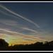 Sunset at Sint-Jansberg, Zelem