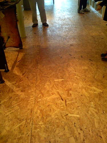 Chip Board Flooring Affordable And Unique Flooring Made