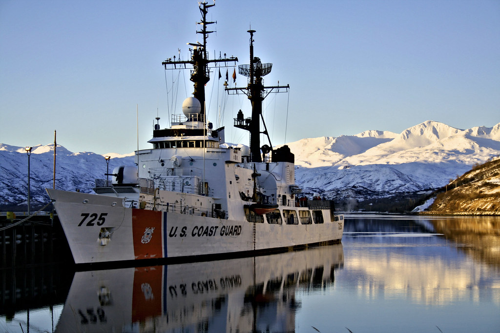 Alaska >> USCGC JARVIS KODIAK ALASKA | Took this in kodiak | TRAVIS DEICHL | Flickr