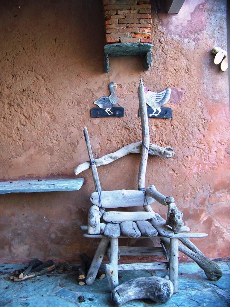 pino cap corse chaise en bois flott marie flickr. Black Bedroom Furniture Sets. Home Design Ideas