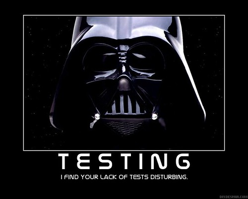 I find your lack of tests disturbing. | by Sebastian Bergmann