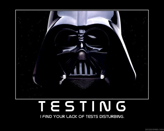 I find your lack of tests disturbing
