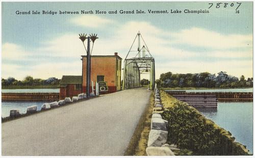 Grand Isle Bridge Between North Hero And Grand Isle  Vermo