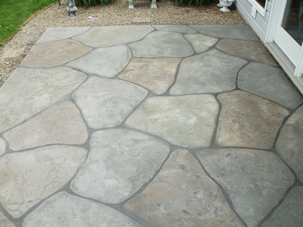 grand flagstone patio may 2011 flickr. Black Bedroom Furniture Sets. Home Design Ideas