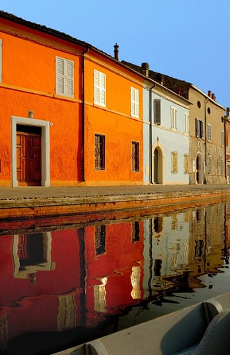 Comacchio, canals and reflections | by cienne45