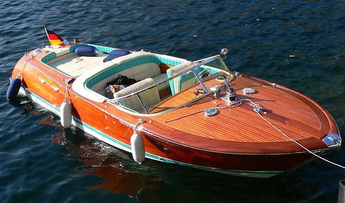 Riva Motor Boat | Ugo Cei | Flickr
