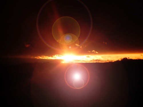 Sunset lens flare.... | by Gale's Photographs
