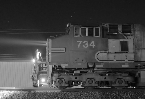 BNSF 734, Norman, OK | by Ottergoose