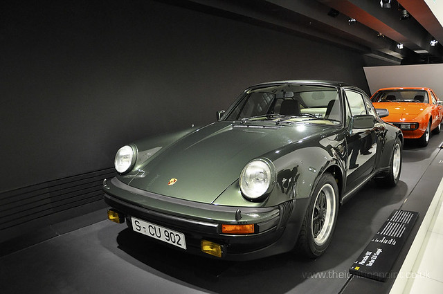 Porsche 911 Coupe 3 0 Turbo Dark Green 911 Turbo 3 0