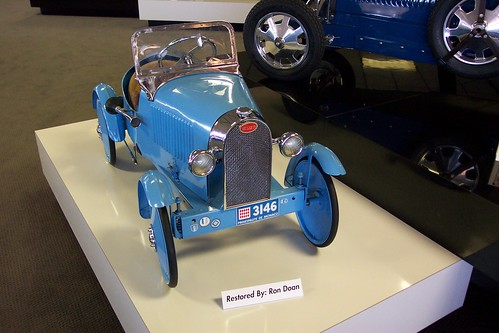 Bugatti pedal car | by Hugo-90