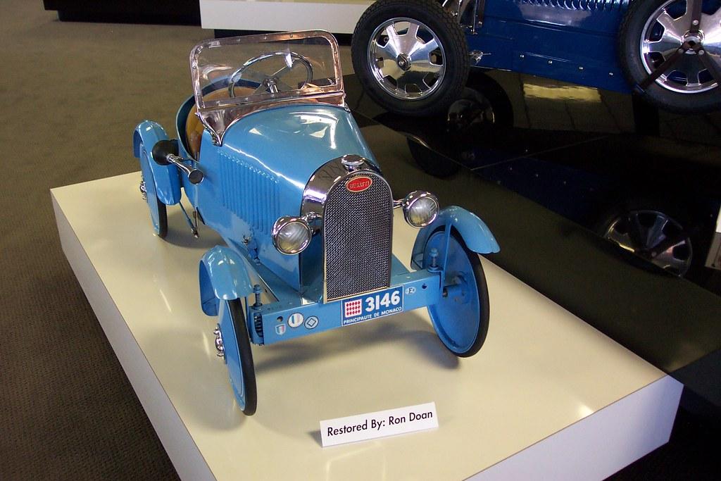 Bugatti Pedal Car Www Museumofamericanspeed Com John