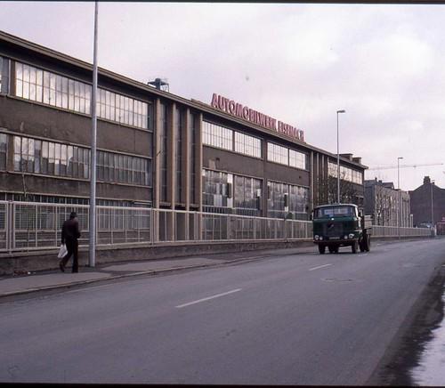 AWE (Wartburg) car factory, Eisenach Nov 1993