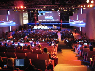 Conference hall @ Le Web | by Phillie Casablanca