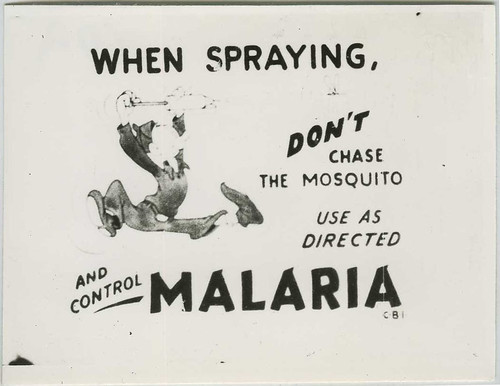 ddt vs malaria Christopher sloan: what ddt can do malaria is a preventable mosquito-borne disease it can be controlled by spraying a tiny amount of ddt on the walls of houses twice.