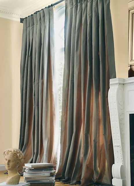 restoration hardware drapes. Restoration Hardware Silk Taffeta Drapes | By MrsLimestone R
