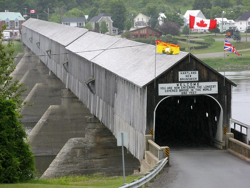 Pont couvert d'Hartland - Hartland covered bridge | by Martin Bergeron