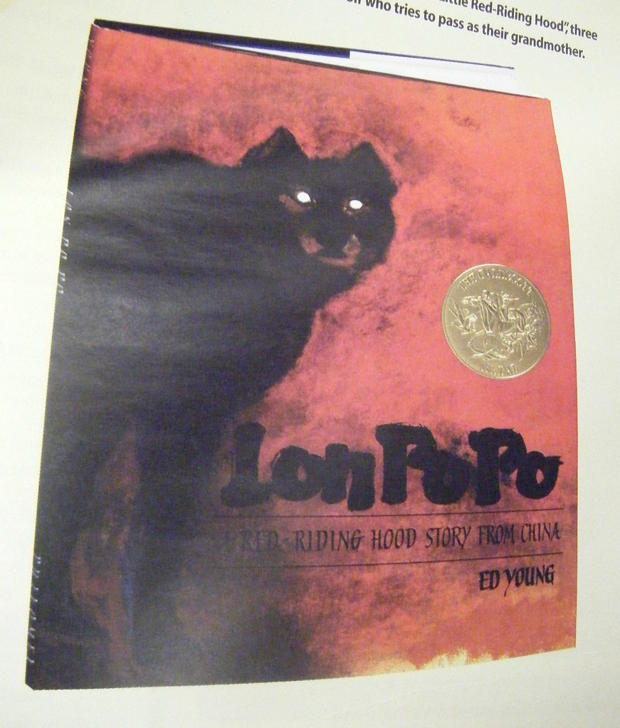 lon po po Lon po po, by ed young, is a chinese version of the familiar red riding hood story in this story the wolf comes to the house while the mother is gone and only the.