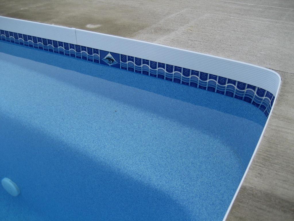 Vastec Pool Coping On A Viking Fiberglass Pool Www