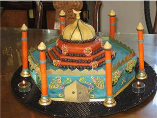 Cake Art Mo : Masjid (mosque) Cake 3 My 19 year-old daughter and her ...
