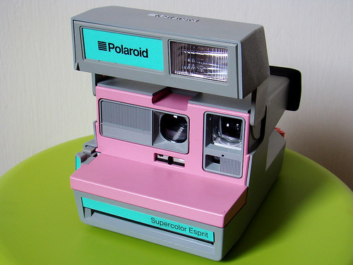 Polaroid SuperColor Esprit Grey Pink - II | by hsalnat