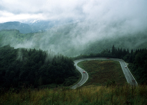 Hairpin bend in Slovakia | by AnyRoadAnywhere