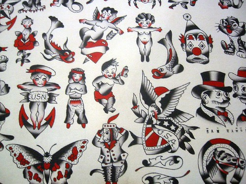 Vintage Tattoo Flash Art 86