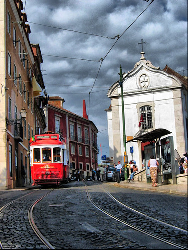 Alfama Tram, Lisbon | by photphobia