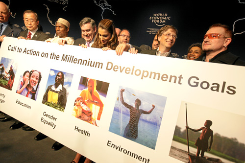 Millennium Development Goals - World Economic Forum Annual Meeting Davos 2008 | by World Economic Forum