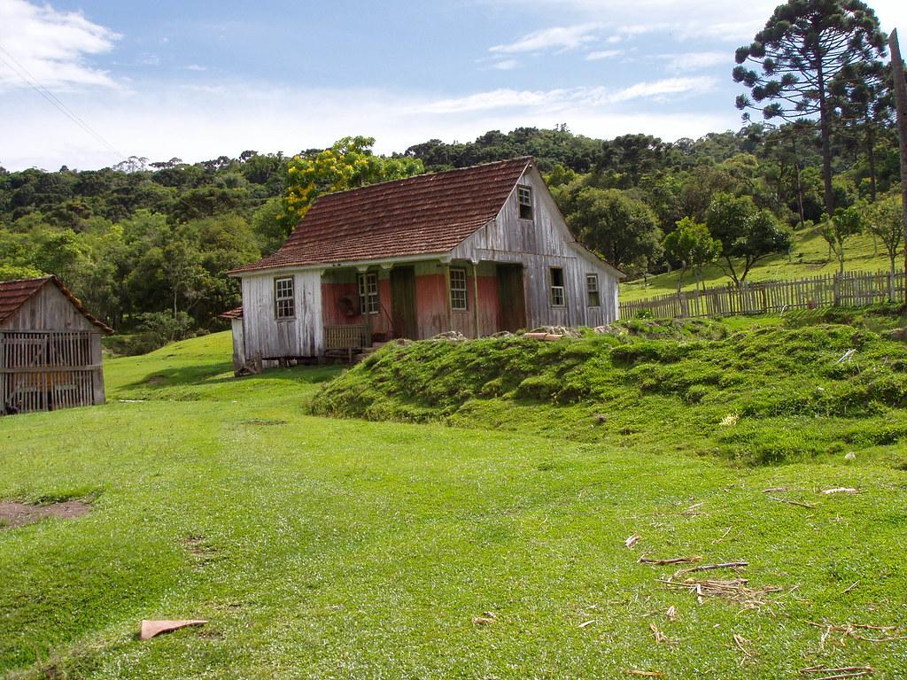 Casa no campo paisagem bom retiro bocai va do sul - Casas de campo restauradas ...