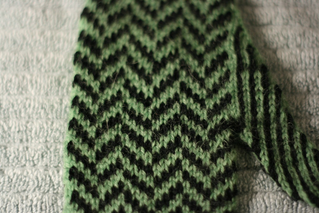 Knitting Herringbone Stitch In The Round : Herringbone Stitch Knit images
