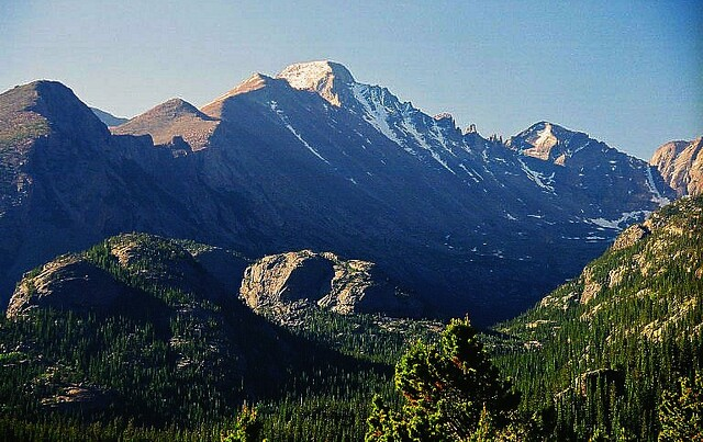 View On The Way To Dream Lake Navin75 Flickr