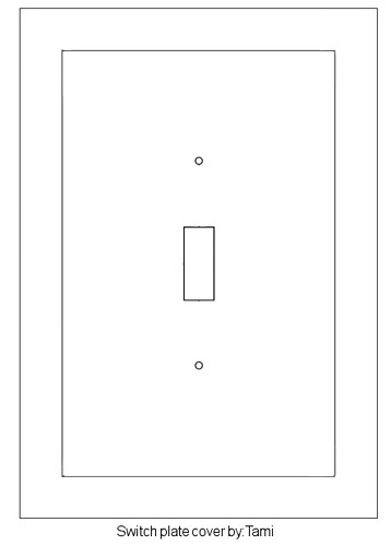 Basic Lightswitch Template | Annie\'s Uncommon ARTicles | Flickr