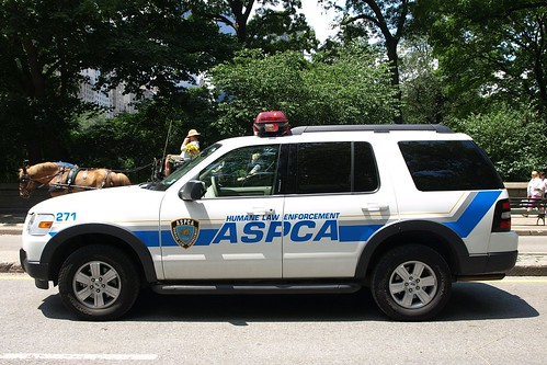 ASPCA Humane Law Enforcement Car in Central Park, New York City | by jag9889