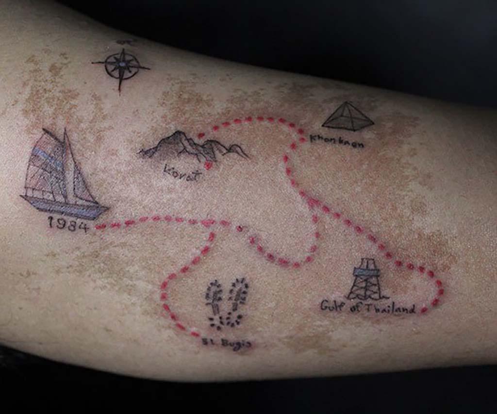 Tattoos covering up birthmarks: The most creative scar & birthmark tattoos & tattoo ideas – Treasure Map
