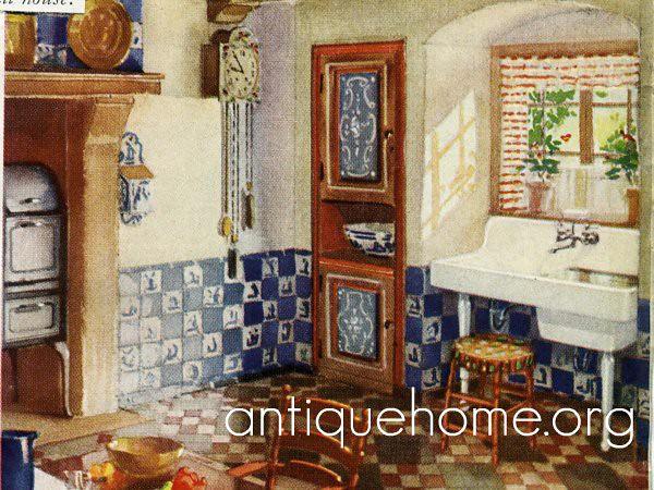 48s Kitchen Design Vintage 48s Kitchen 48's Interio Extraordinary 1930S Kitchen Design