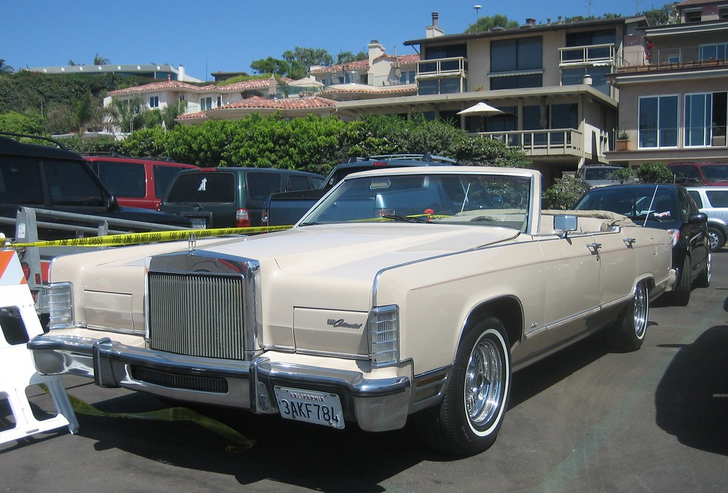 Four Door Convertible >> Lincoln Continental Town Car Four-Door Convertible | Flickr