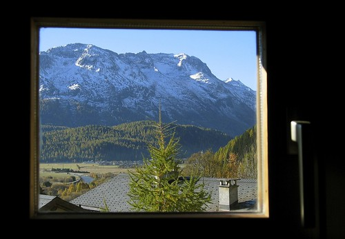 View through a Swiss window | by kbrookes